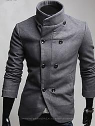Men's Coats & Jackets , Tweed Bodycon/Casual Reverie