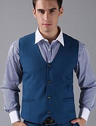 Men's Sleeveless Short Blazer , Lycra/Nylon/Organic Cotton Pure