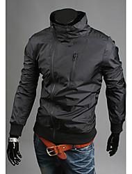 la mode Charels hommes tout adapté veste manteau mince