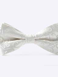 motif nœud papillon blanc