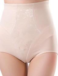 poliéster / lycra cintura alta moda que forma las bragas atractivas de la talladora de la ropa interior