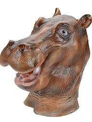 Syvio hochwertigem Latex Nilpferd Kopf halloween Slip-on Maske