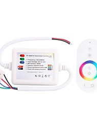 288W Wireless Smart RF Remote Touch RGB Controller  for RGB Strip Lamp (DC 12-24V)