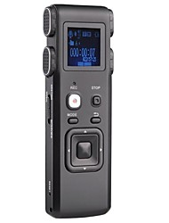 8G Portable Digital Activated Voice Recorder Dictaphone With Mp3 Player K3 Black