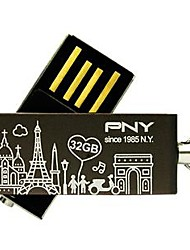 PNY Lovely Attaché Paris Eiffel Tower 32GB USB Flash Drive