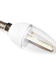 Ampoules Bougie Décorative Blanc Chaud H+LUX™ C E14 5 W 24 SMD 3022 350 LM 2700K K AC 100-240 V