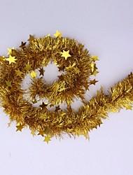 décorations de Noël suspendus ornements d'arbre de noël rubans de dessin décoration