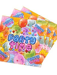 Coway 30*30*1 20 pcs/Package Balloon PARTY Birthday Party Party Supplies Paper Napkin