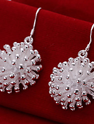 Vintage/Cute/Party/Work/Casual Silver The fashion of fireworks Earrings