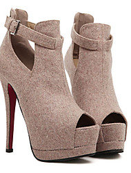 Amei Sexy Super High Heel Women'S Shoes_132