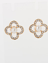 strass oro della moda orecchini delle donne ainiya