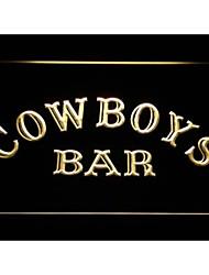 M080 bar de cow-boys signe de néon