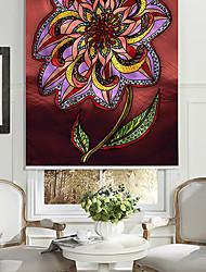 huile style de peinture de fleurs luxuriantes rouleau ombre