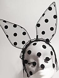 oreilles de lapin tulle point occasion spéciale casque de stade