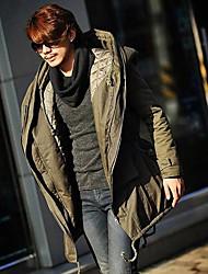 мужской утолщенной увеличение пальто