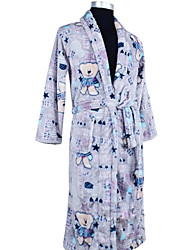 Bath Robe, High-class Lovely Baby Bear Garment Bathrobe Thicken