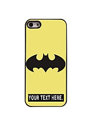 Personalized Case Cartoon Design Metal Case for iPhone 5/5S