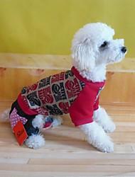 Mode für Haustiere schöne süße Fleece Jeans für Haustiere Hunde (verschiedene Größen)