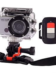 5.0MP Full HD 1080P 50M vandtæt sportshjelm kamera WiFi DV videokamera