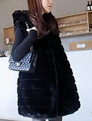 xt mi waistcoat_15 long fourrure (noir)