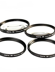 52mm 4pcs Close-Up Filter Kit with Filter Bag (+1, +2, +4, +10)