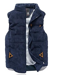 Men's  Solid Color Slim Vest