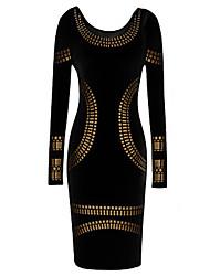 w&Vintage akhnaton Pharao, figurbetontes Kleid h Frauen