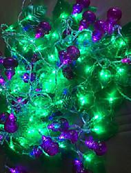 LED String Light 99 Lights Modern Calabash Shape Plastic 10m 220V
