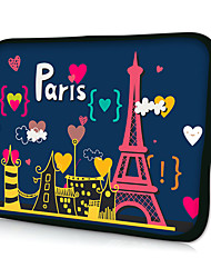 "huado® 15 ""caso manga paris laptop para macbook pro ar / hp / dell / Sony / Toshiba / asus / acer"