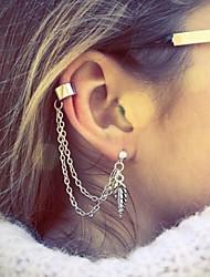 Pendiente-Shixin®-Legierung-Puños del oído-1pc- paraFiesta / Casual