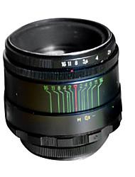 di seconda mano helios 44-2 58 millimetri f / 2,0 obiettivo della fotocamera sulla lente M42 b (usura lieve)