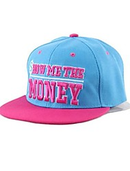 Unisex MONEY Letters Flat Along The Hip-hop Hat