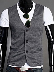 Men's Cotton/Polyester Casual U&F