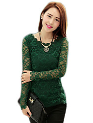 Women's Tops & Blouses , Lace Casual