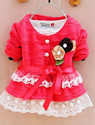 Toddlers Baby Girls Princess Cotton Party Tops Coat Kids Clothes Spring Autumn