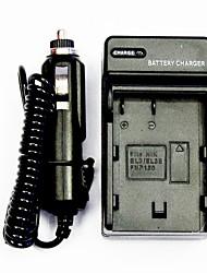 Camera Battery Charger with a Car Charger for Nikon EL3/EL3E/FNP150 (100-240V)