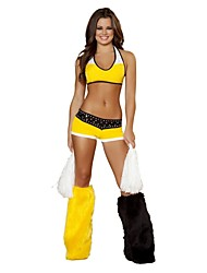 Dancewear Women's Cheerleader Costume Outfit With Accessory