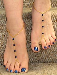 Women's 4 Beads Anklets