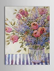 Hand Painted Oil Painting Flower Arrangement by Joyce Hicks with Stretched Frame