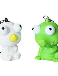 стресс-избавляют Squeeze Игрушка глаз внезапная животных (случайным образом)