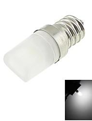 E12 1W LED 100lm Cool White Light 6000K Tiny Ceramic Bulb (AC 110-130V)