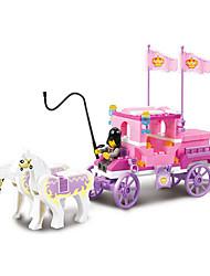 137pcs le bloc de carrosse royal éclairer jouets pour les cadeaux