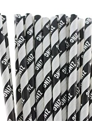 Creative Halloween Paper Straws Eco-Friendly Paper Straws for Drinking  (25 PCS)
