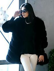 coko&van de vrouwen nieuwe hoogwaardige Koreaanse imitatie vossenbont luxe jas