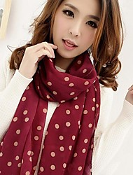 Женский модный, шифоновый шарф (разные цвета)