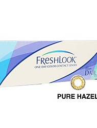 Ciba FreshLook 1 Day Pure Hazel (10 lens / box)(Zero Degree)