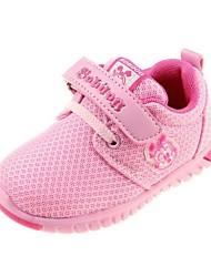 zapatos de la muchacha de tacón plano transpirables zapatos zapatillas de deporte de moda más colores disponibles