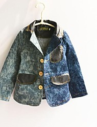 Boy's Cotton / Denim Jacket & Coat,Spring / Fall Print