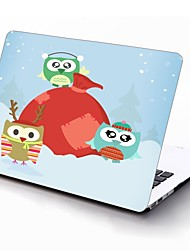 Love Owl Design Full-Body Protective Plastic Case for 11-inch/13-inch New MacBook Air