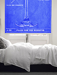 Plan Inspired Words How To Make A Martini With Blue Background Roller Shade